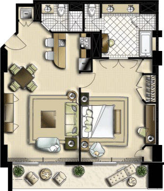 Floor plans the reef residences at atlantis for Atlantis homes floor plans