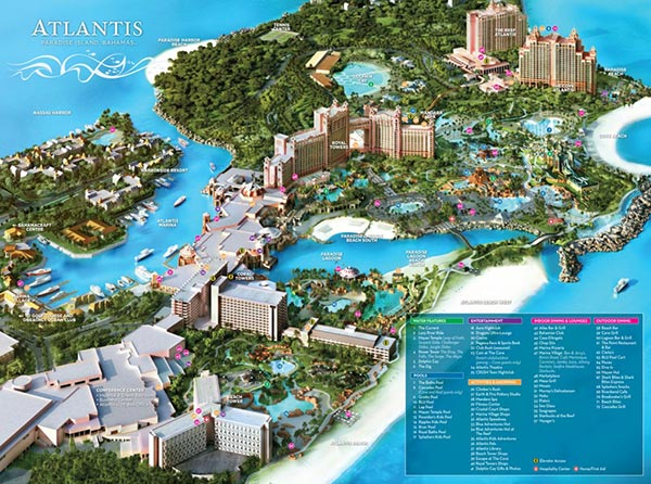 The-Reef-resort-map