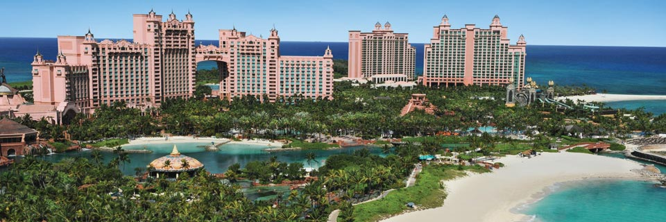 Overview of entire Atlantis resort
