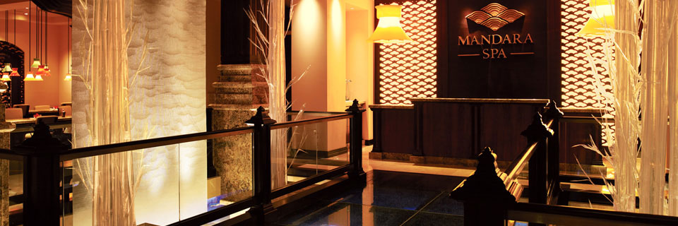 Indulge in rest and relaxation at the Mandara Spa at Atlantis